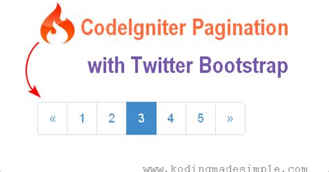 tutorial codeigniter pagination php codeigniter pagination with twitter bootstrap styles