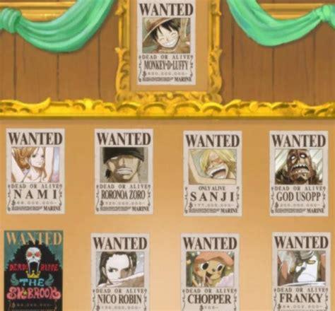 daftar harga buronan  piece terbaru  poster bounty