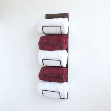 bathroom towel storage wall mounted buy crafted wall mounted towel rack towel storage