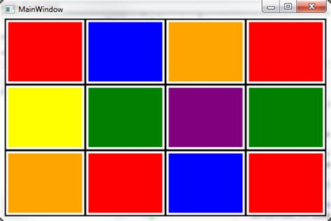 Grid Layout Border Wpf | wpf assigning border to every grid row stack overflow