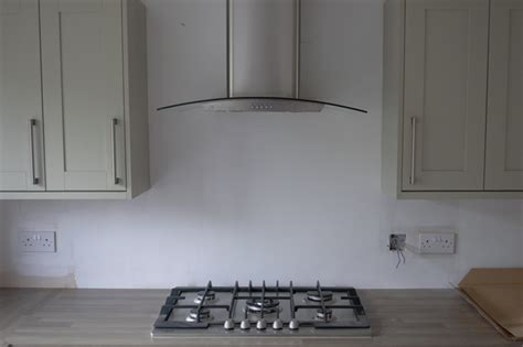 Kitchen Oven Extractor Fans Kitchen Update Oven Hob Extractor Fan Well I Guess