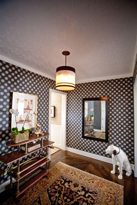wallpaper design for hall stupefying polka dot wallpaper for walls decorating ideas