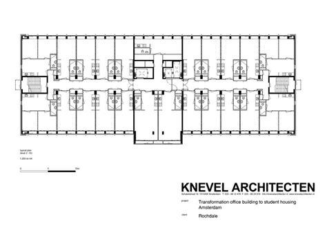 student housing floor plans student housing in elsevier office building knevel