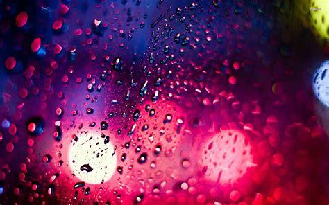 wallpaper rain pink wet window wallpaper