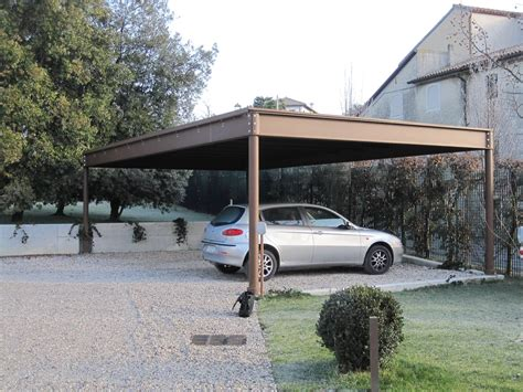 costruire una tettoia per auto tettoia in ferro per auto