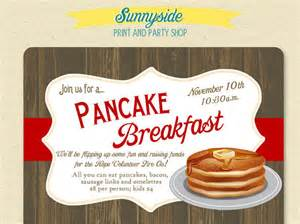Pancake Breakfast Ticket Template by 10 Wonderful Breakfast Invitation Templates Free