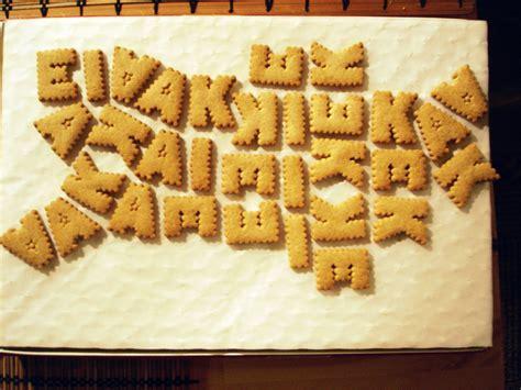 di lettere biscotti per bambini alfabeto ricetta
