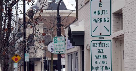 downtown naperville parking downtown naperville parking satisfaction drops as shoppers