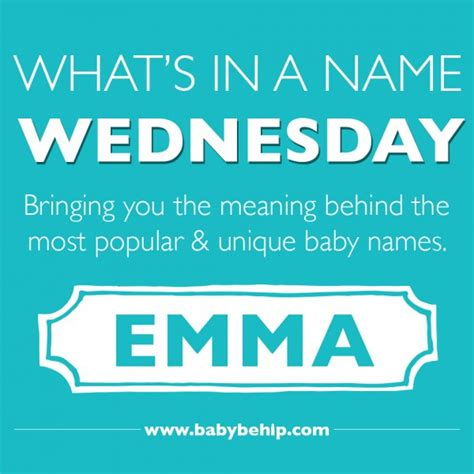 Baby Shower Creative Gifts by What S In A Name Wednesday Baby Be Hip Blog
