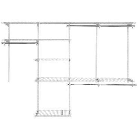 Wire Closet Organizer Systems by Wire Closet Systems Wire Closet Organizers The Home Depot
