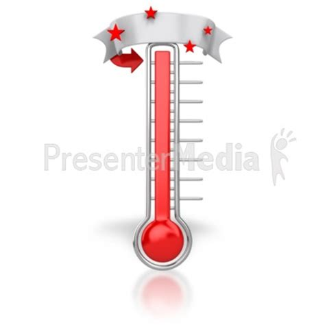 printable thermometer banner thermometer blank banner signs and symbols great