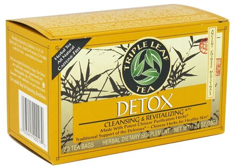 3 Leaf Detox Tea by Leaf Tea Detox Tea Cleansing Revitalizing 20