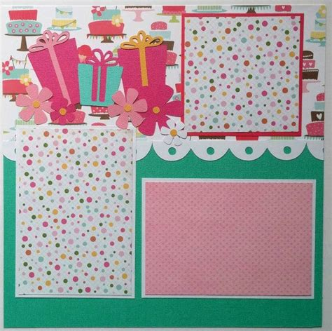 scrapbook layout ideas for birthday scrapbook layouts birthday www pixshark com images