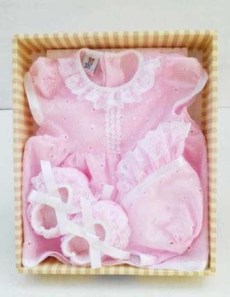 Sendal Sepatu Anak Bayi Prewalker Putih 0 1 Tahun set baju baby pink