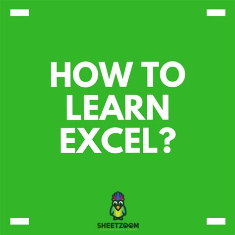 How To Learn Spreadsheets by Excel Or Function Tips Sheetzoom Excel Courses