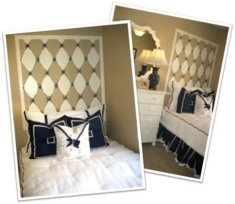 faux headboards making your house a home