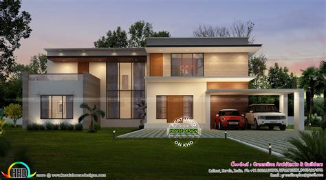 what is a contemporary house most modern kerala home kerala home design and floor plans