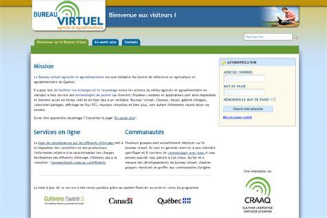 Bureau Virtuel Agroalimentaire Bureau Virtuel