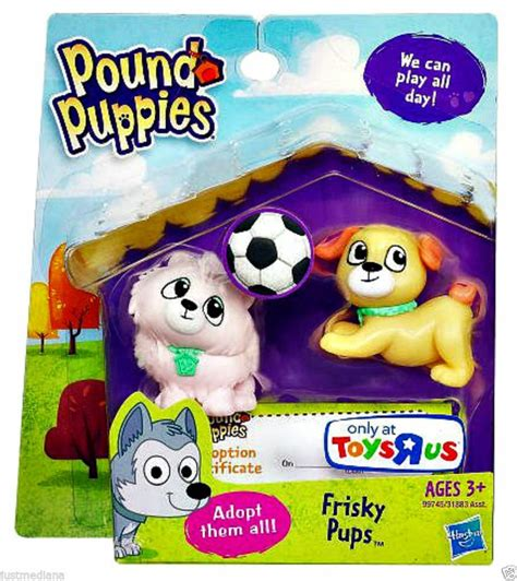 pound puppies toys hasbro pound puppy pairs frisky pups adorable pups figure 3 28 99 re