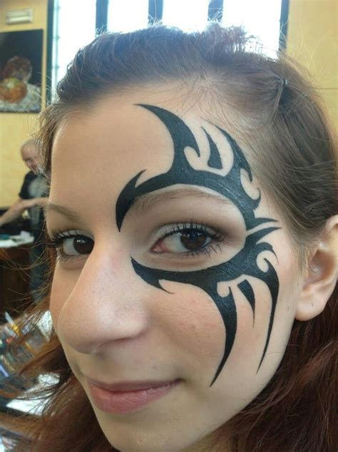 tribal facial tattoos 26 best paint tribal images on costumes