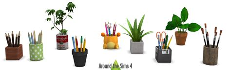 Bedroom Set For Kids by Around The Sims 4 Custom Content Download Objects