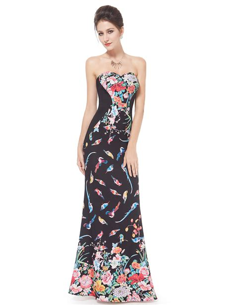 2007 The Printed Dress by Pretty 2015 Printed Formal Evening Prom Gown