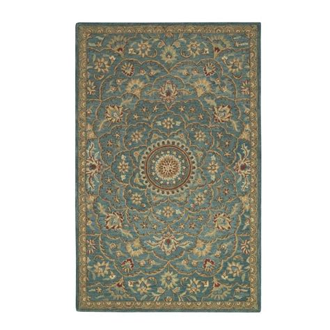 3 x 8 rug home decorators collection rotunda peacock 5 ft 3 in x 8 ft 3 in area rug 1597920330 the