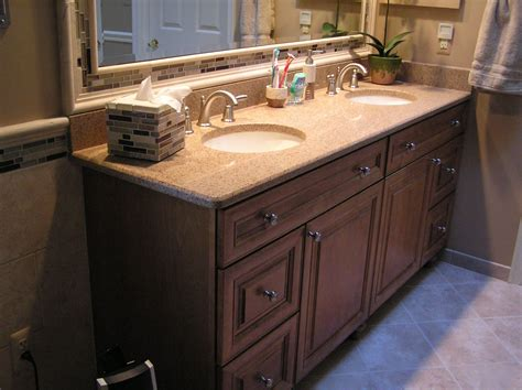 Bathroom Vanity Tile Ideas by Bathroom Bathroom Vanity Ideas With Granite Countertop