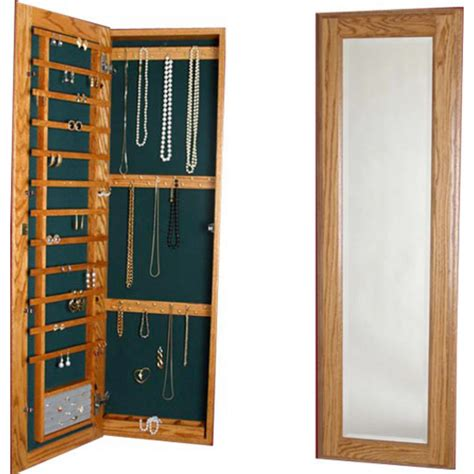 jewelry cabinets with mirror cabinet organizers large jewelry cabinet with