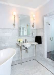 Marble Bathroom Tile Ideas Best 25 Marble Tile Bathroom Ideas On Pinterest