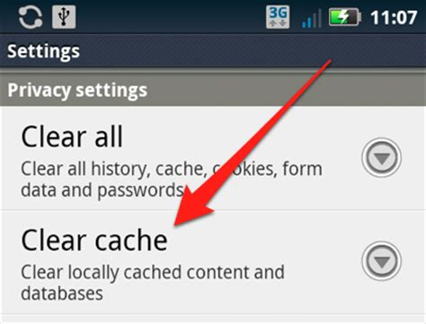 android how to clear cache how to clear the cache and cookies from your android phone simple help