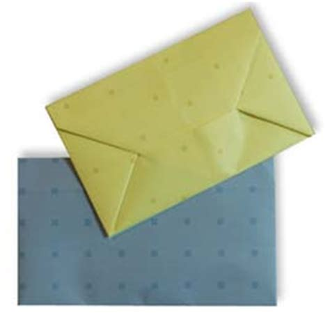 Origami Envelope With Rectangle Paper - origami envelope