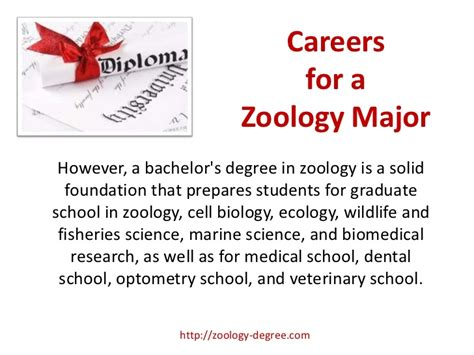zoology degree careers