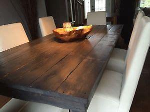 Table Bois 619 by Tables De Cuisine En Bois De Grange Plusieurs Models