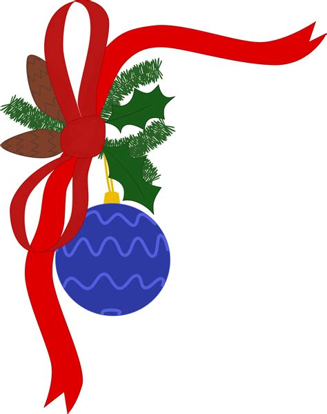 christmas decorations clipart free clipart decoration