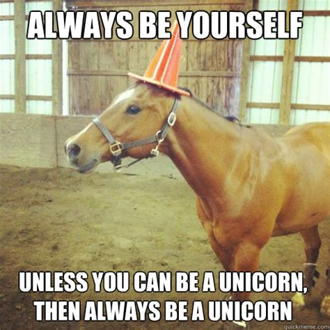 Unicorn Meme - horse and a rhino a unicorn misc quickmeme