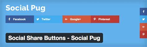 pug social 15 plugins make a splash on social medias