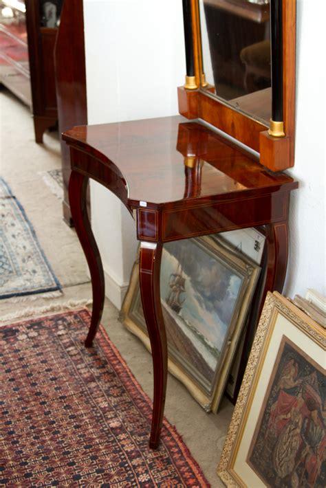 biedermeier konsole biedermeier mahagoni konsole um 1840