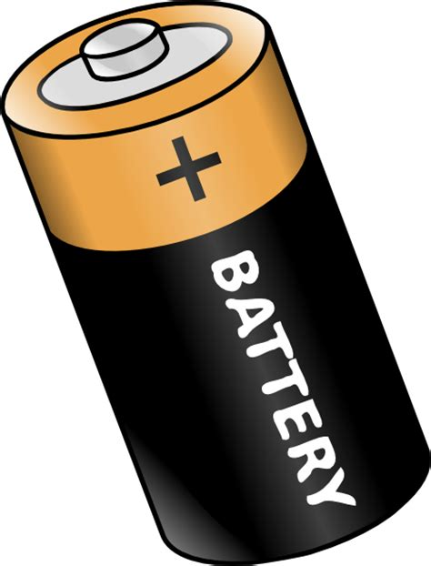 Batteries Clipart battery 2 clip at clker vector clip royalty free domain