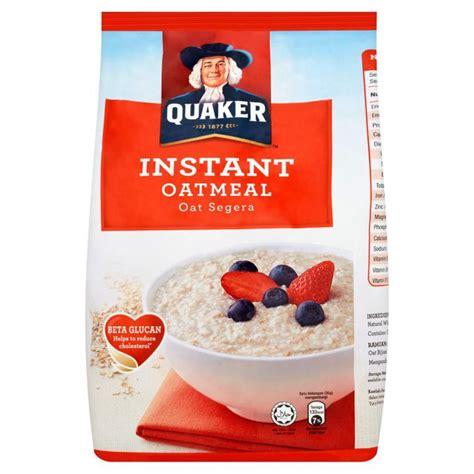 Quaker Instant Oatmeal 1 2 Kg quaker inatant cook oatmeal 1 35kg shopee malaysia