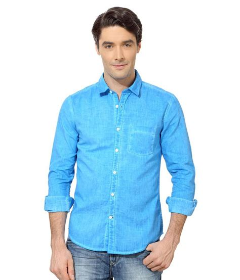 Peter England Gift Card - peter england blue casual shirt buy peter england blue casual shirt online at best