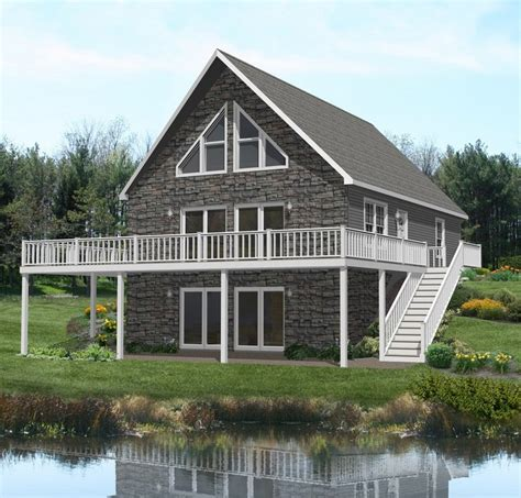 Chalet Homes Beautiful Chalet For An Adirondack C Exteriors Modular Homes Architecture
