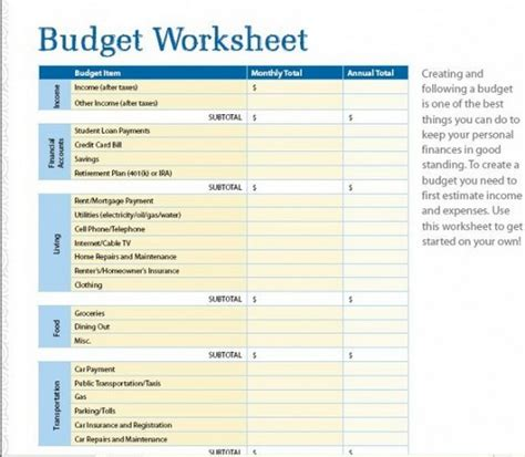 real estate budget spreadsheet donatremax real estate