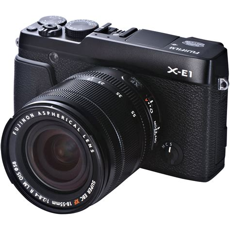 fujifilm x e1 digital fujifilm x e1 digital kit with xf 18 55mm 16276467 b h