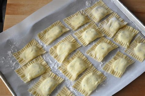 Handmade Ravioli Recipe - ravioli with ricotta filling camille cooks for you