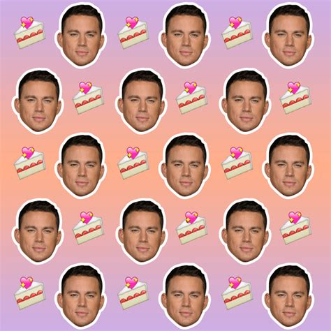 emoji gif of channing tatum gifs find share on giphy