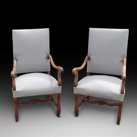 comfortable armchairs uk an attractive and comfortable pair of walnut armchairs ca