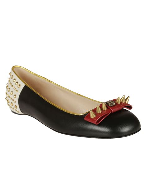 gucci flat shoes for gucci gucci studded ballerinas multicolour