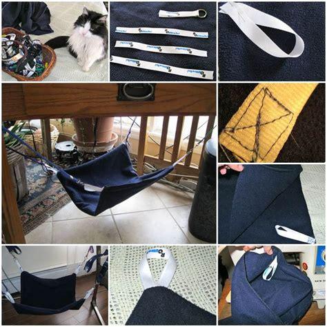 desk hammock diy diy kitty hammock cat house project pinterest