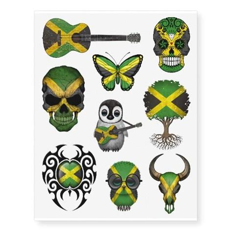 jamaican tattoos designs 25 best images about temporary tattoos on baby